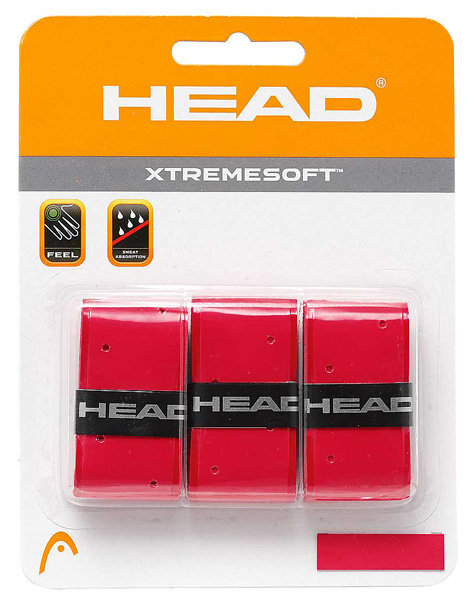 HEAD OVERGRIP XTREMESOFT, Overgrip de extraordinario agarre y absorsion.